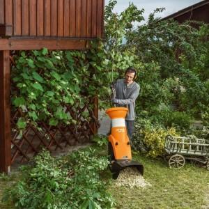 ogrodowy rozdrabniacz